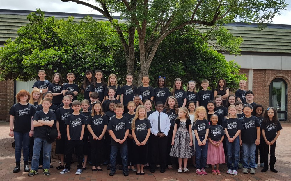 May 2017: CPJO students performed next to the Carolina Philharmonic for the 2016-17 Season Finale at Sandhills Community College.