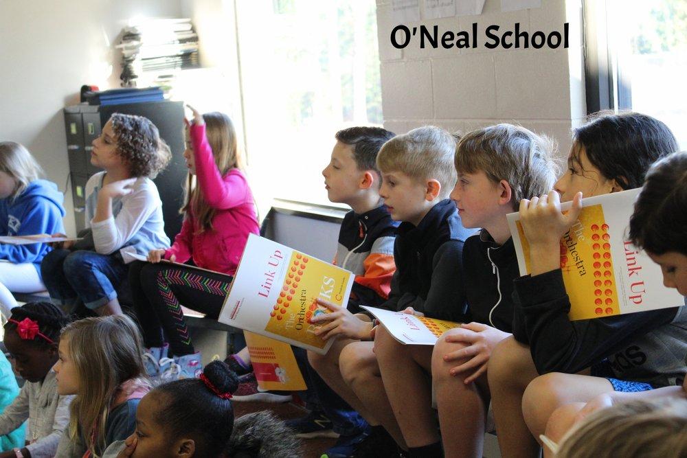 Oneal School- 3rd graders-2018 Link Up program by The Carolina Philharmonic.JPG