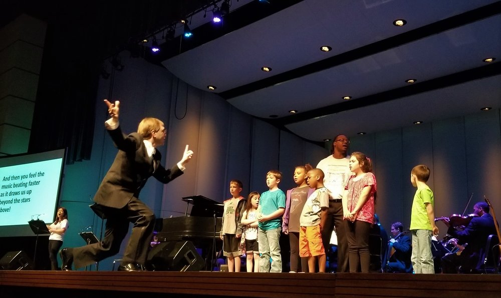 May 1, 2018: Encore! Kids Concert at R.E. Lee Auditorium