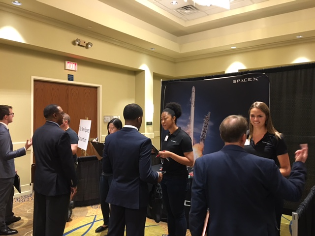 SpaceX met with many superior candidates at our Orlando Expo in June. Visit them at www.spacex.com.