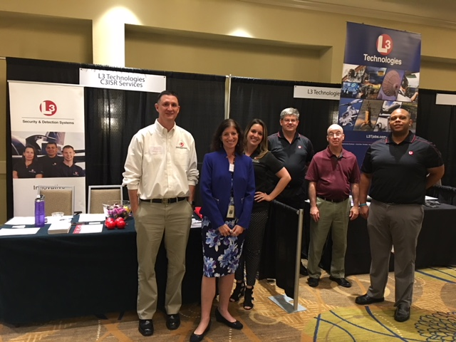 We had quite the L3 Team in Orlando on September 24th. L3 Technologies, C3ISR Services, and Security & Detection Systems! They have multiple opportunities; visit them at  www.L3T.com/careers.