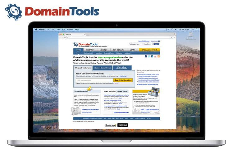 DomainTools UX Infrastructure