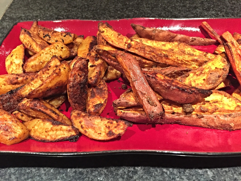 Roasted sweet potatoes get a flavor and B12 boost with Ayala's Magic Spice