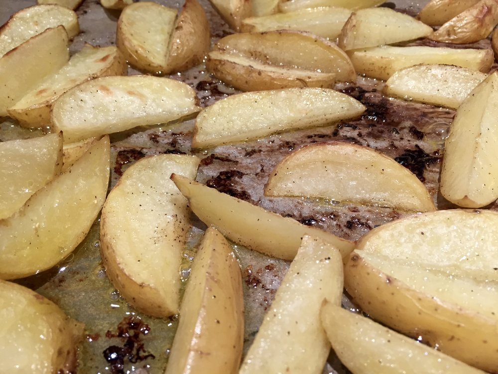 Potato wedges WITHOUT Ayala's Magic Spice