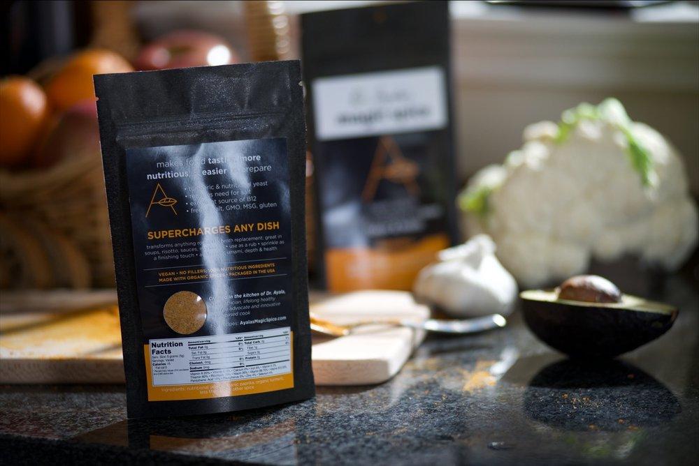 makes food nutritionally complete, tastier & easier to prepare