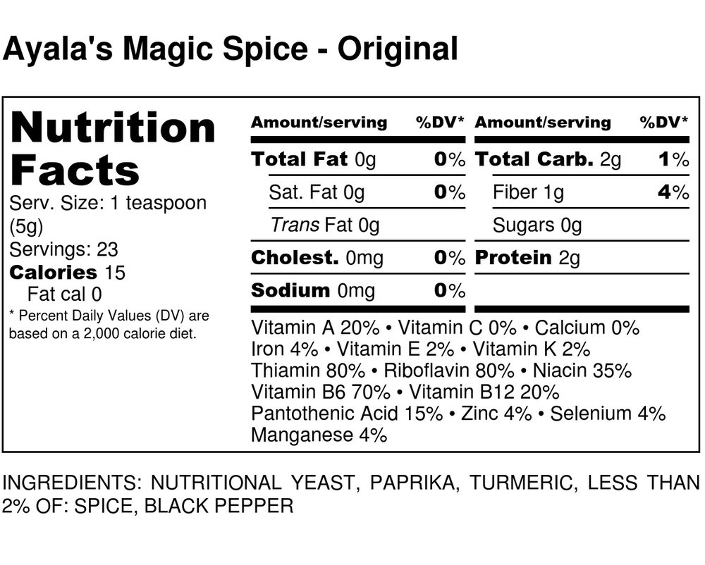 Ayala's Magic Spice - Original - Nutrition Label-4.jpg