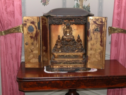 A SURPRISE IN EVERY ROOM—Yarmouth's deep water sea captains acquired many unique pieces, like this Asian Temple, during their voyages to distant, exotic lands. Their lives were far more cosmopolitan than many of their land-bound neighbors, and more dangerous, as you will discover.