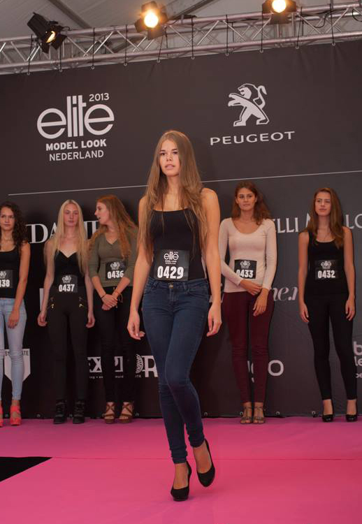 Documentary photography; The Elite Model Look 2013, hosted in Beek.