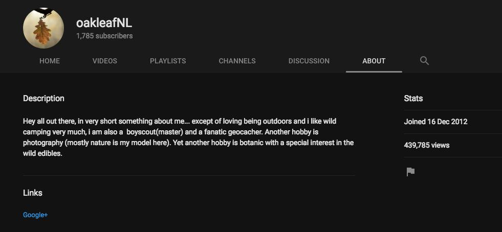 Youtube channel of Jos Brech.