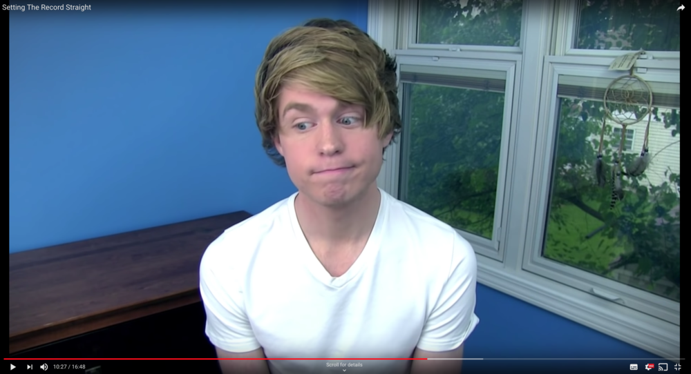 Austin Jones still has a Youtube Channel. Photo: Youtube