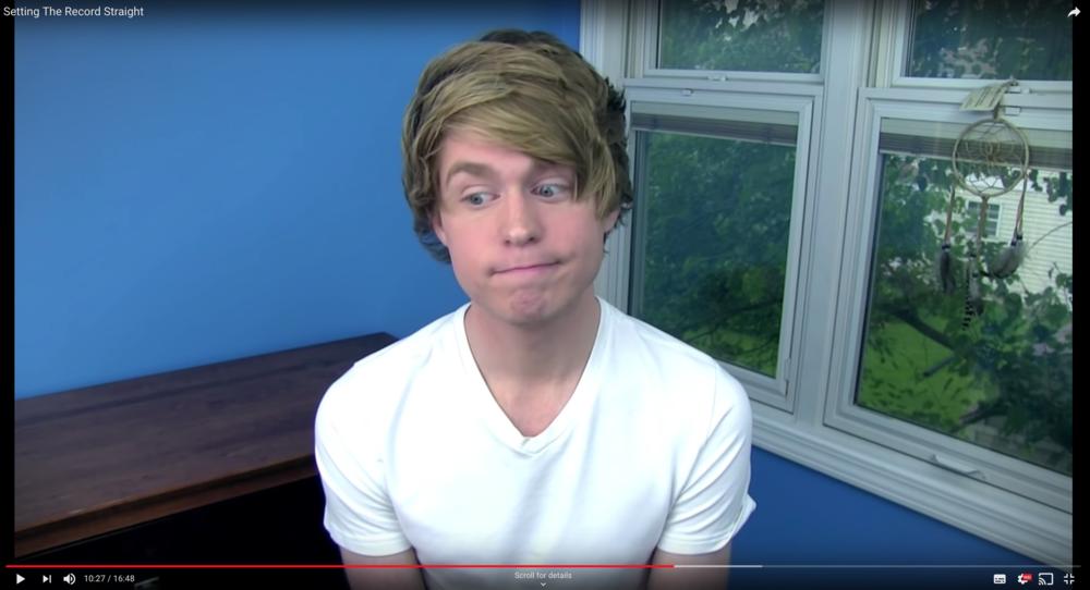 Austin Jones still has a Youtube Channel. Photo: Youtube