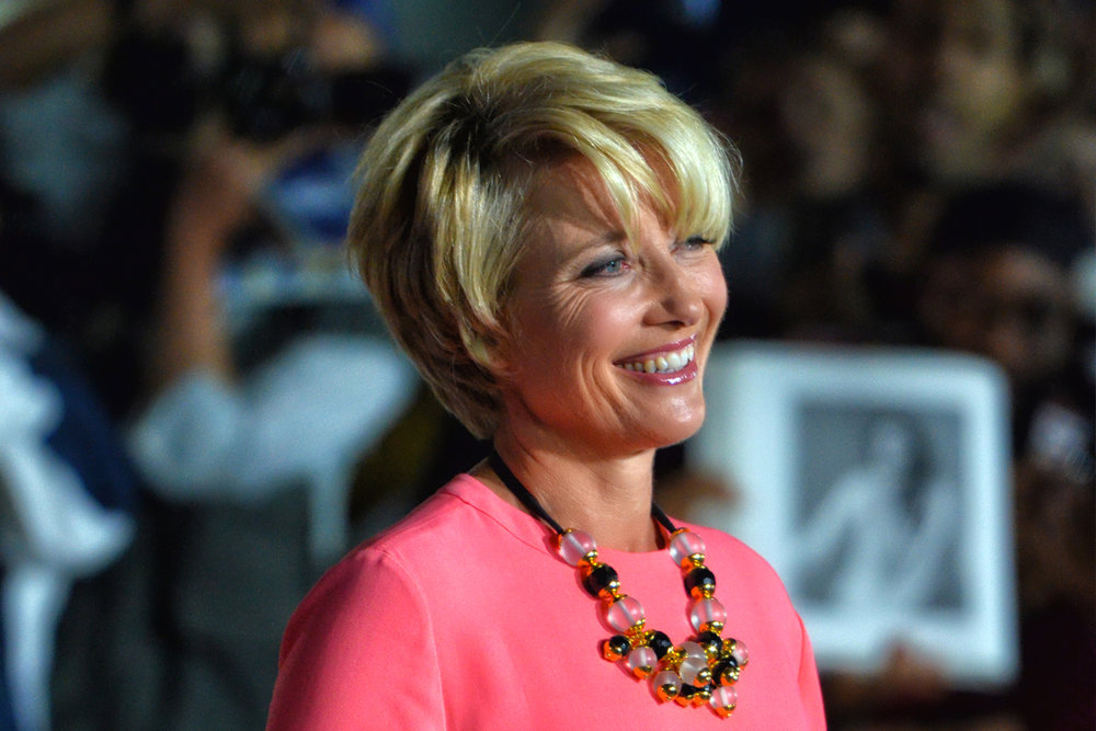 Emma Thompson at the premiere of The Love Punch at the 2013 Toronto International Film Festival. Photo:  Wiki,  Justin Harris ( CC BY 2.0 )