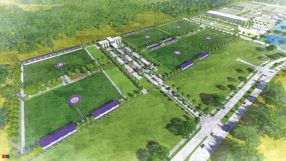 Orlando City Lions Training Facility at Lake Nona
