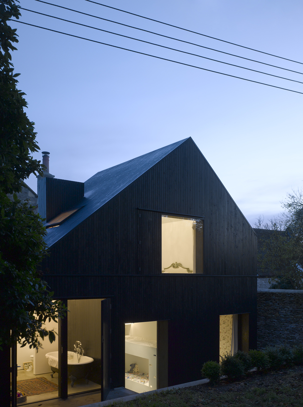 Shadow House,  Jonathan Tuckey Design
