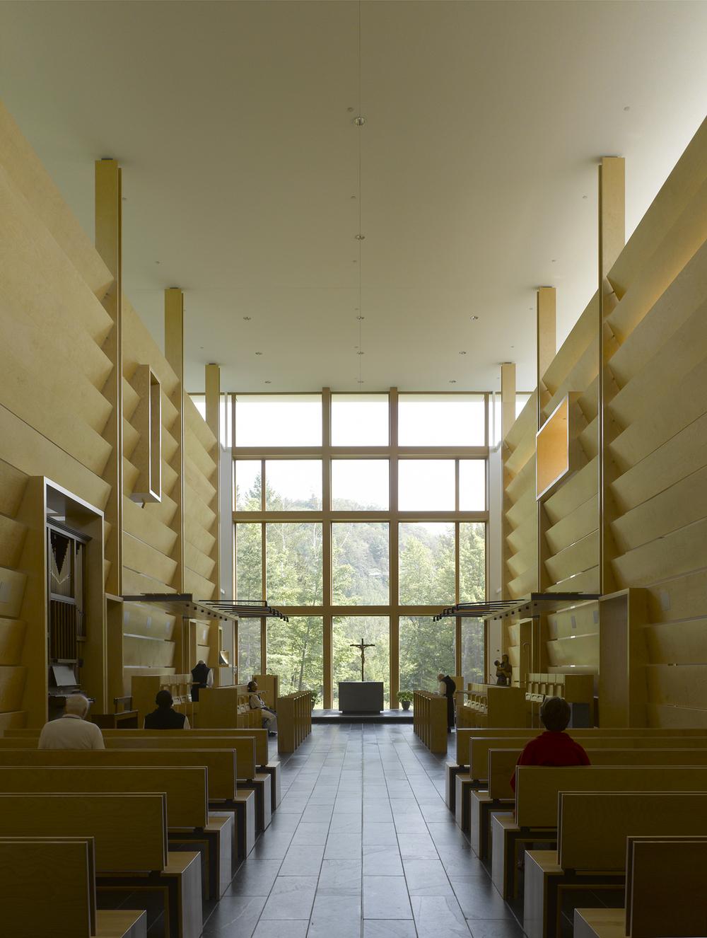 Abbaye Val Notre Dame,  Pierre Thibault