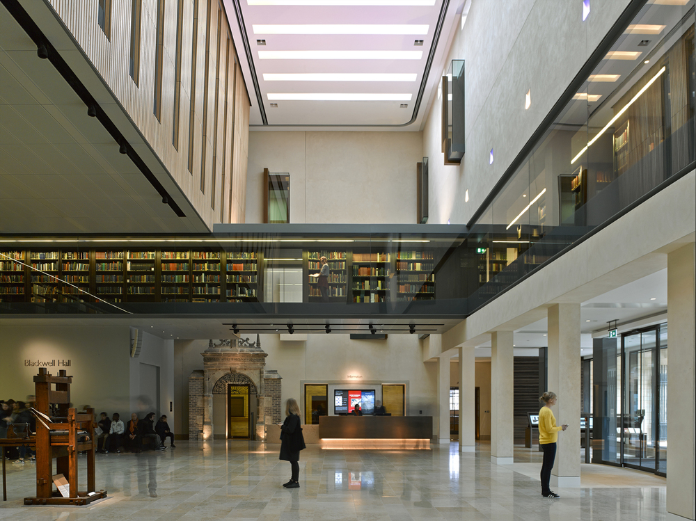 New Bodleian Library,  Wilkinson Eyre Architects