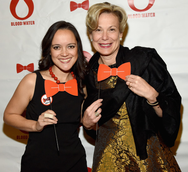 Ambassador-at-Large and Red Tie Gala Honoree Deborah L. Birx taking a fun photo with me during the Red Tie Gala