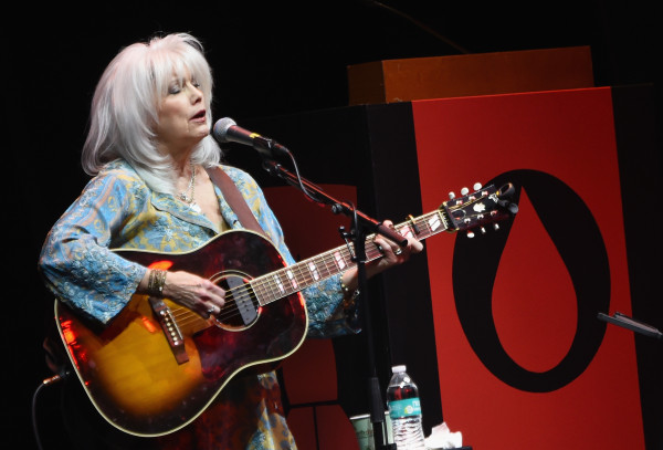 Singer-songwriter Emmylou Harris performs onstage during our Fourth Annual Red Tie Gala