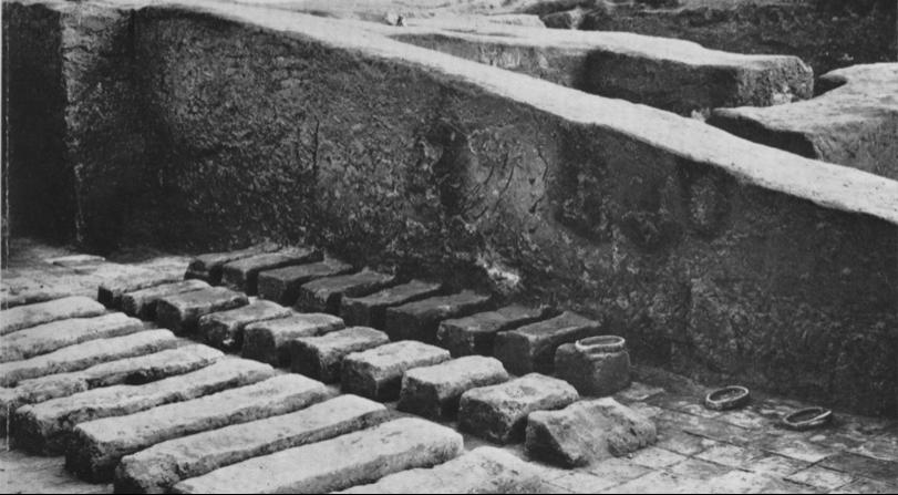 Ancient Sumerian classroom