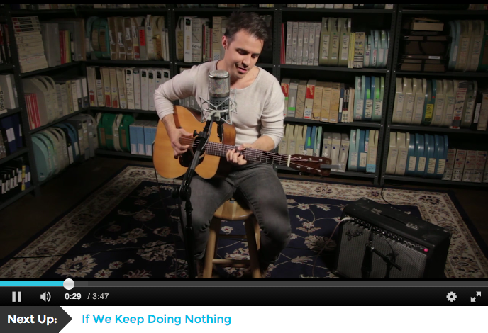 Kris Allen: Live at Paste Studio