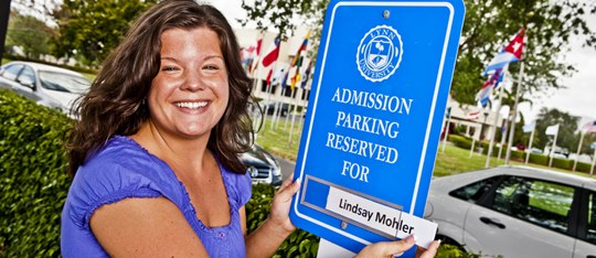 Lynn's personalized campus visit receives recognition