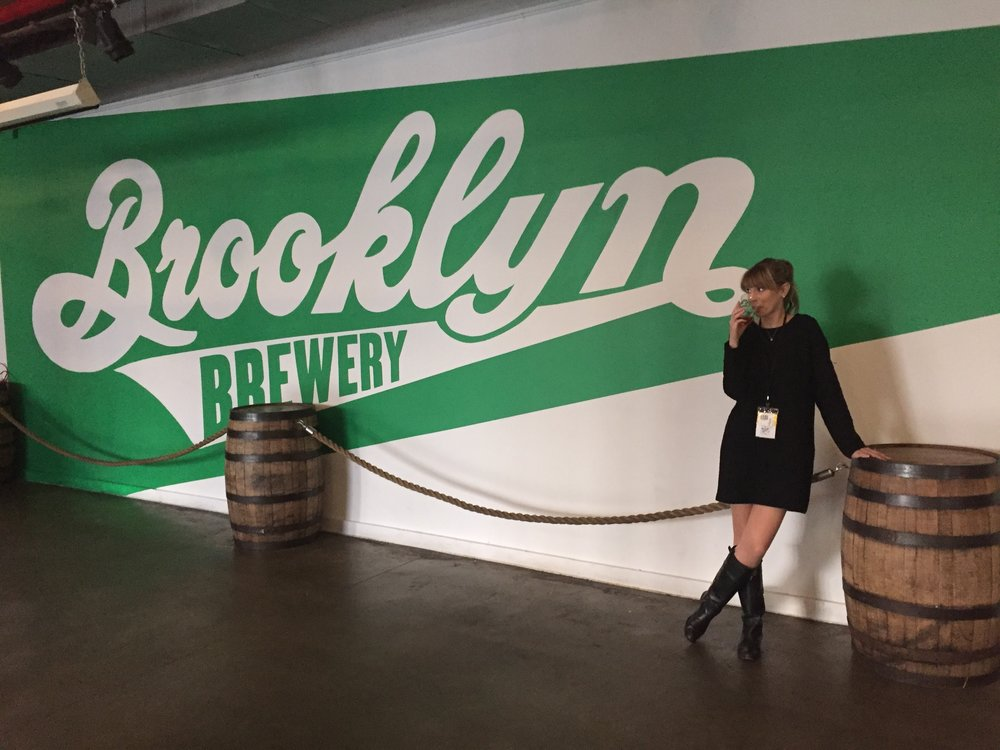 Yes, there's more to learn from the Brooklyn Brewery than what beers are on tap. :)