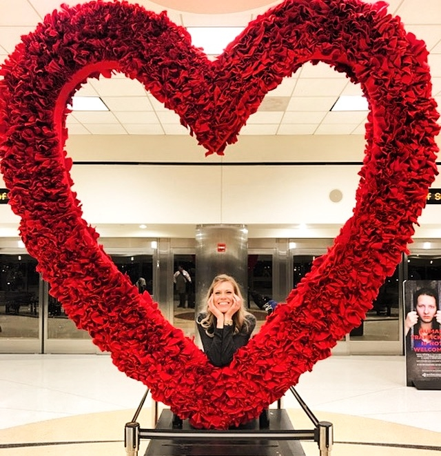 Valentine's Day at Hartsfield-Jackson Airport (ATL)