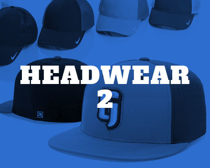 click to view more customizable hats.