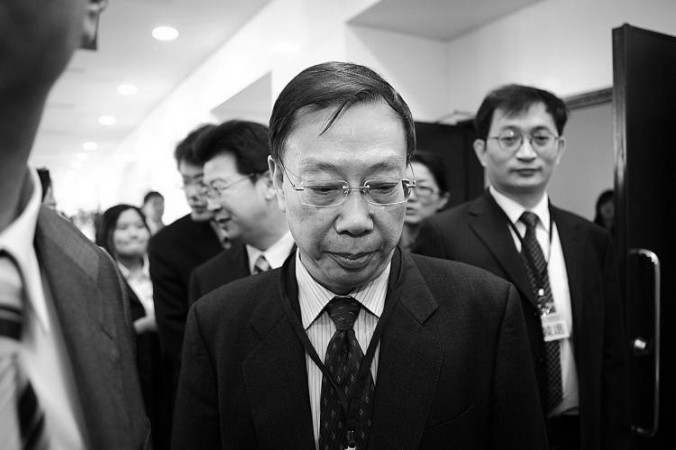 Huang Jiefu at a conference in Taipei, Taiwan, in 2010. Students at Hong Kong University have criticized the university for awarding an honorary degree to Huang Jiefu, former Chinese vice minister of health, for his involvement in organ harvesting in China. (Bi-Long Song/Epoch Times)