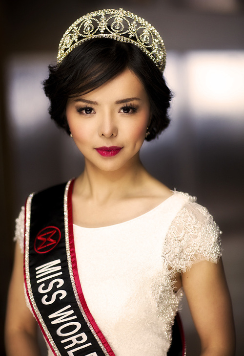 Anastasia Lin, Miss World Canada 2015. (AnastasiaLin.com)