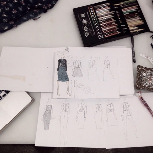 Progressing! #fynapparel #sketchbook #sketch #dresses #fashiondesign #fashion #inspirations #Inprogress