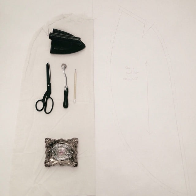 #patternmaking #drapping #cape #fashion #portlandfashion #outerwear #fashiondesigner #winter