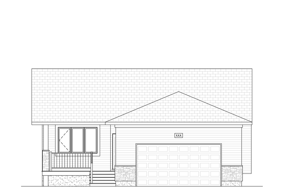 1302 Sq Ft. 38′ Wide 3 Bed / 2 Bath