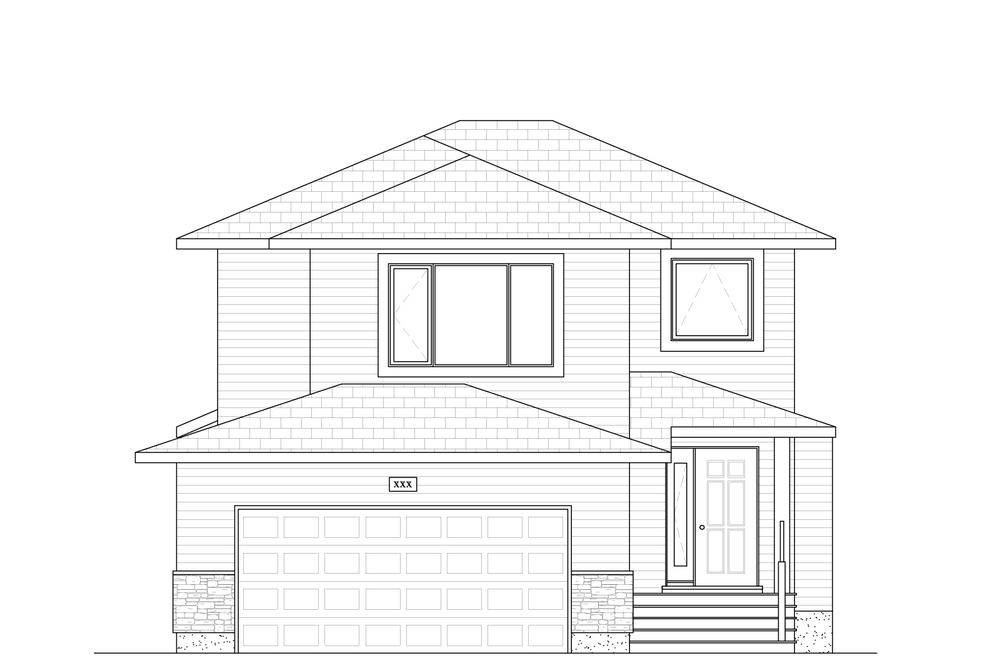 1761 Sq Ft. 30′ Wide 3 Bed / 2.5 Bath