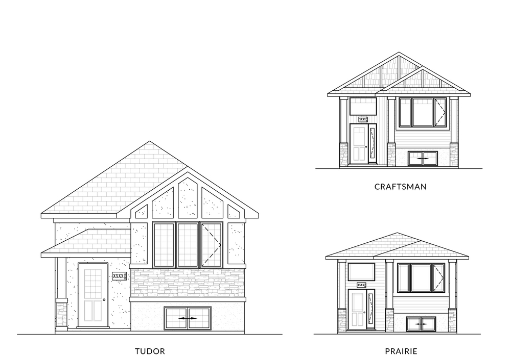 1037 Sq Ft. 20′ Wide 3 Bed Up / 2 Bed Down