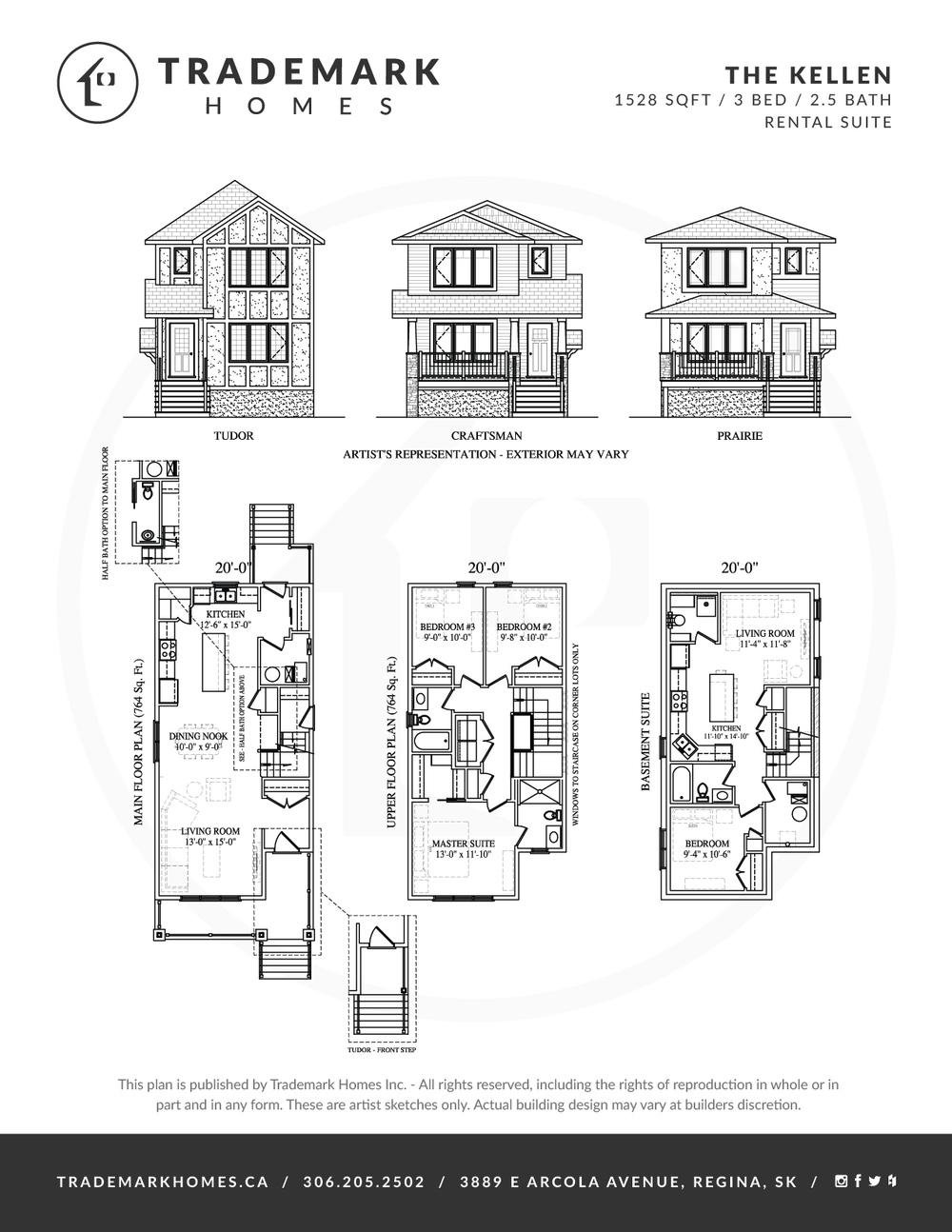 Trademark Homes The Kellen Lane Lot