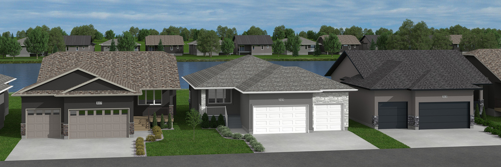 315 Butte Street - Pilot Butte - Live backing a pond