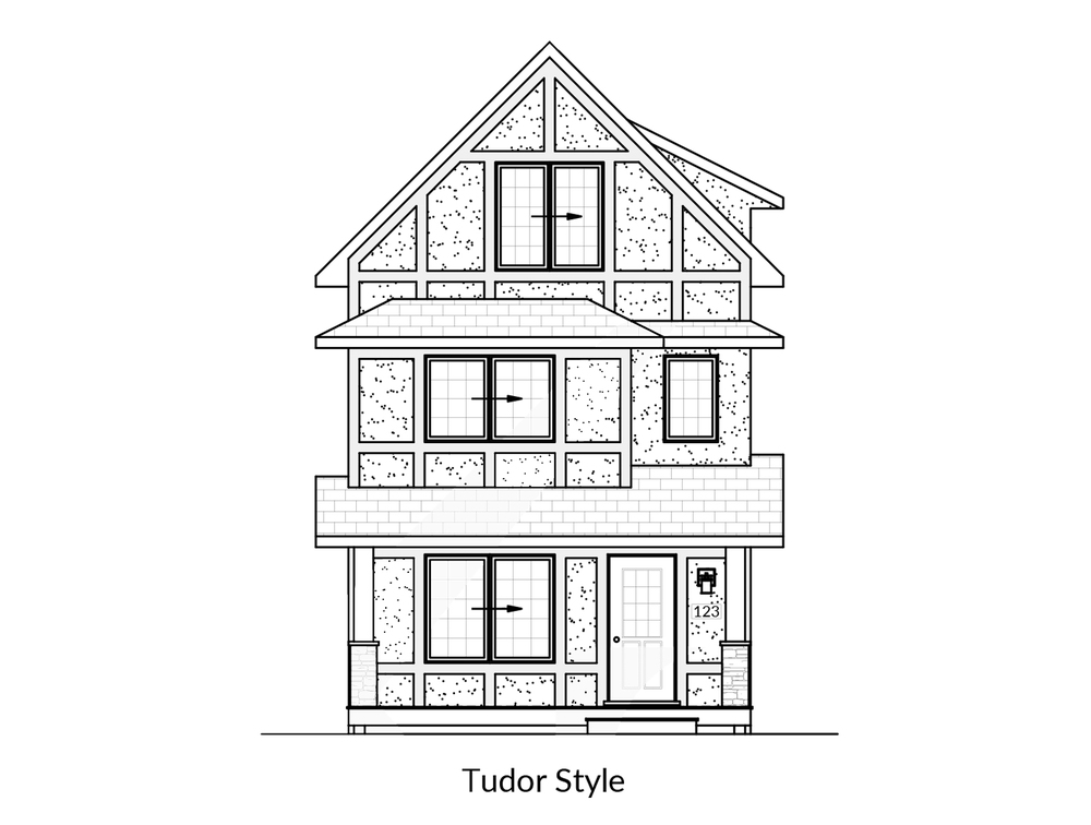 Starting at $215,000 +land & gst.  19′ Wide  3 Bed / 2.5 Bath  Executive Style Master Suite
