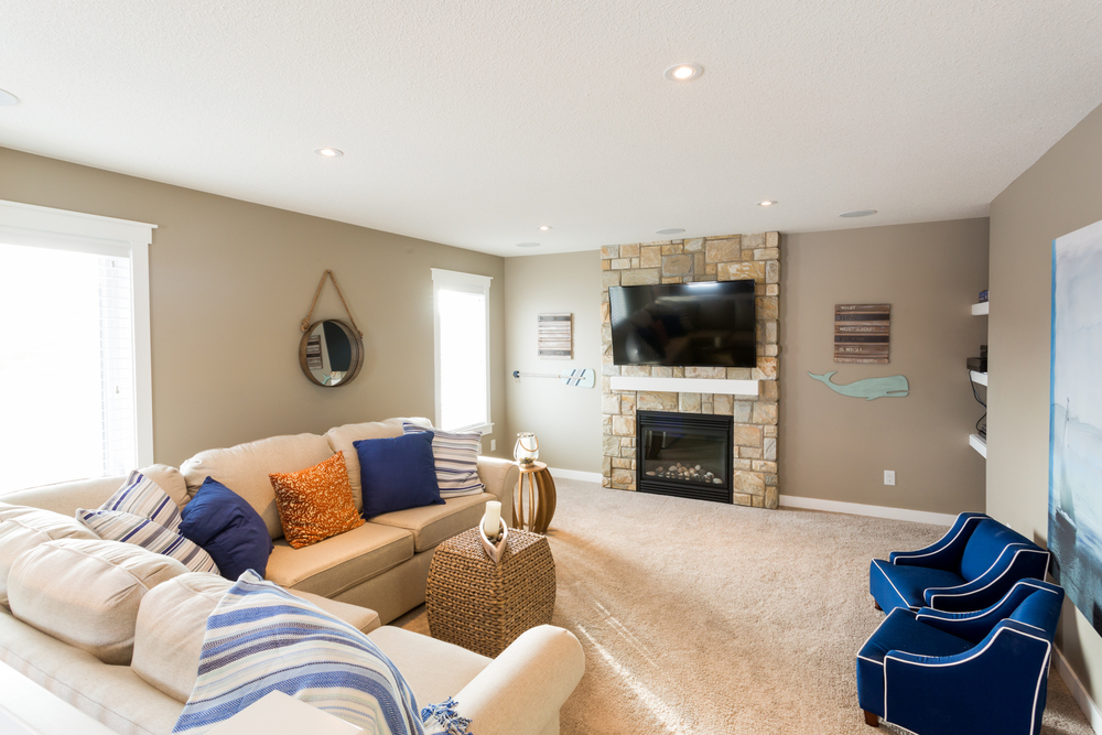 Inside Living Space - Living Room - Regina Home Builder
