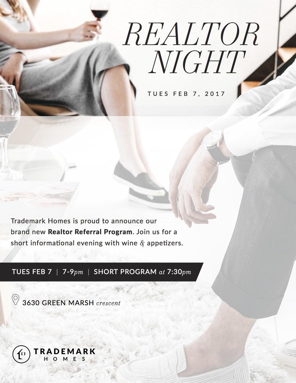 Realtor Night 2017 - Regina Home Builder