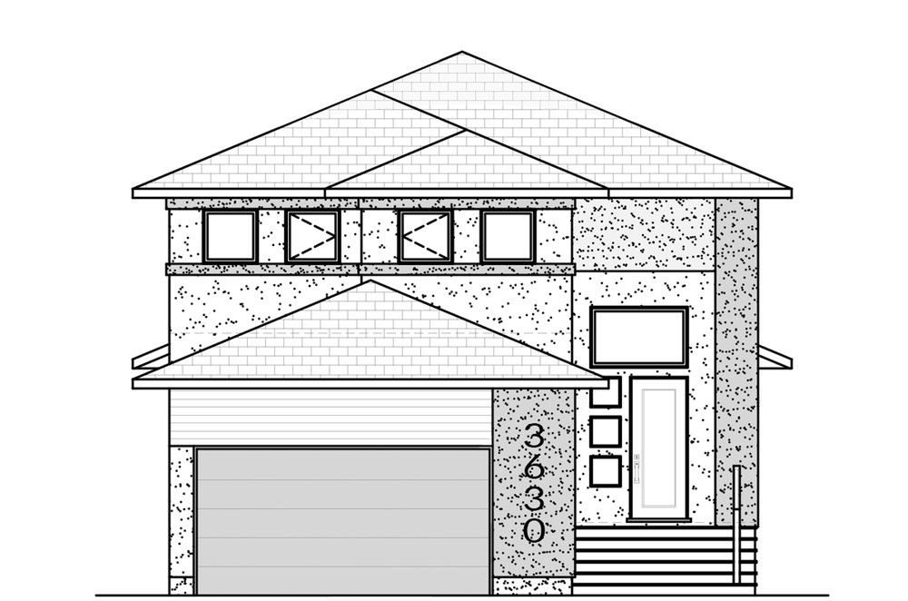 2046 Sq Ft. 32′ Wide 3 Bed / 2.5 Bath / Bonus Room