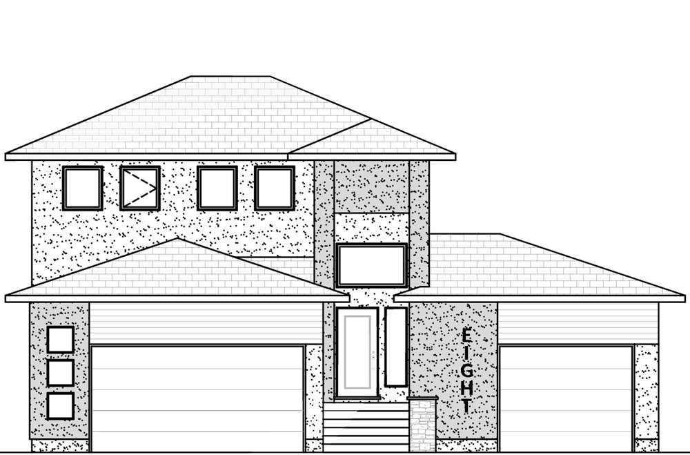 1610 Sq Ft.  48' Wide  3 Bed / 2.5 Bath / Triple Garage