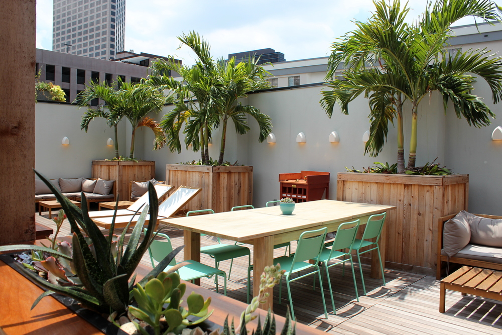Downtown New Orleans Rooftop Bar