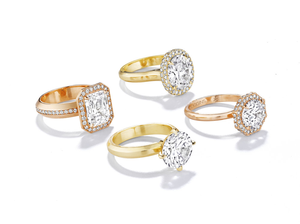 ENGAGEMENT RINGS - Handcrafted in New York City, made specifically for you