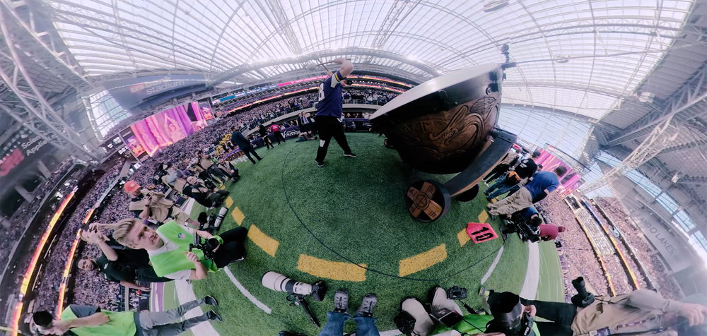 Prime 360 - Get up close and personal in the Viking's big divisional play-off win over the Saints.