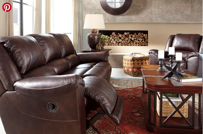 Special Sale Pricing! Ashley Yancy Leather $1329.99 Reclining Sofa $669.99  Reclining Loveseat