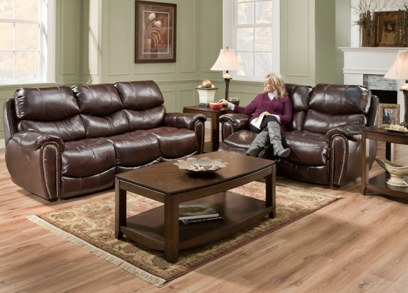Franklin Richmond Leather/Leather Match $1519.99 Reclining Sofa $1499.99 Reclining Loveseat