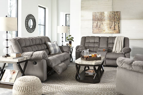 Special Sale Pricing! Ashley Mort $699.99 Reclining Sofa $649.99 Reclining Console Loveseat