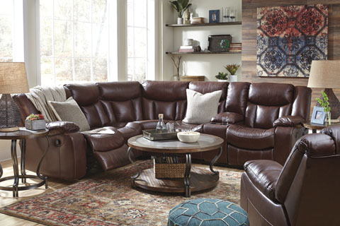 Special Sale Pricing! Ashley Amaroo $2,299.99 2-Piece Reclining Sectional