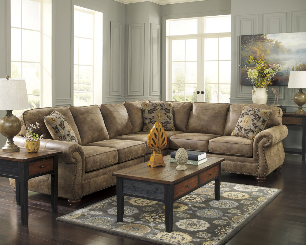 Special Sale Pricing! Ashley Larkinhurst 2-Piece Sectional $1,359.99 3-Piece Sectional $1,719.99 Loveseat $699.99